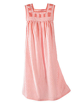 Striped Patio Dress