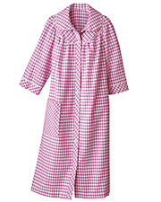 Checked Flannel Duster