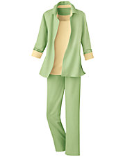 3-Piece Pants Suit