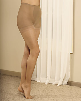 Figure Firmer Girdle Top Pantyhose