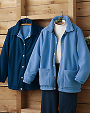 Blue Reversible Coat