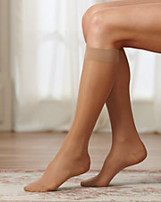 Just Comfort® Sheer Knee High