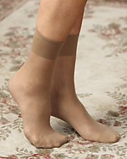 All Nylon Ankle High