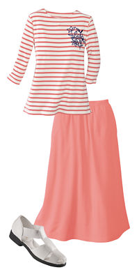 UltraSofts Springtime Comfort Outfit