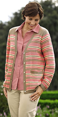Striped Cardigan Outfit