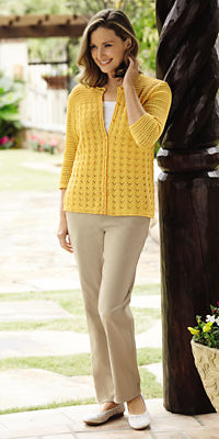 Crochet Cardigan Outfit