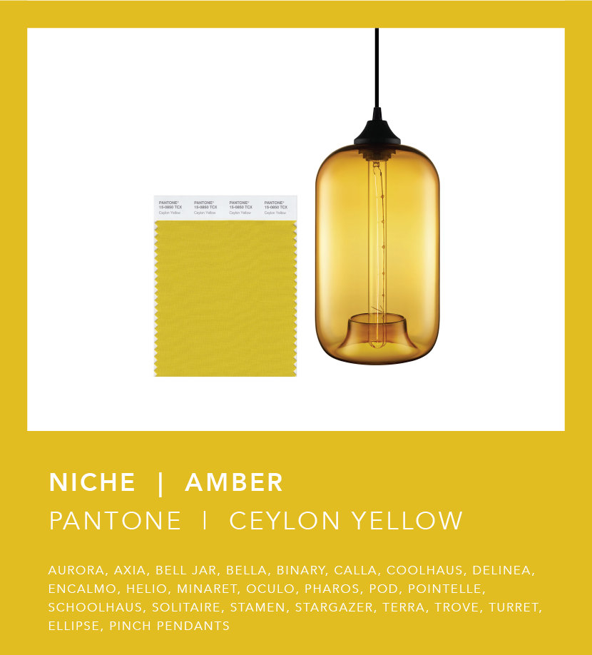 Pantone Fall 2018 Color Trend Report - Ceylon Yellow Amber