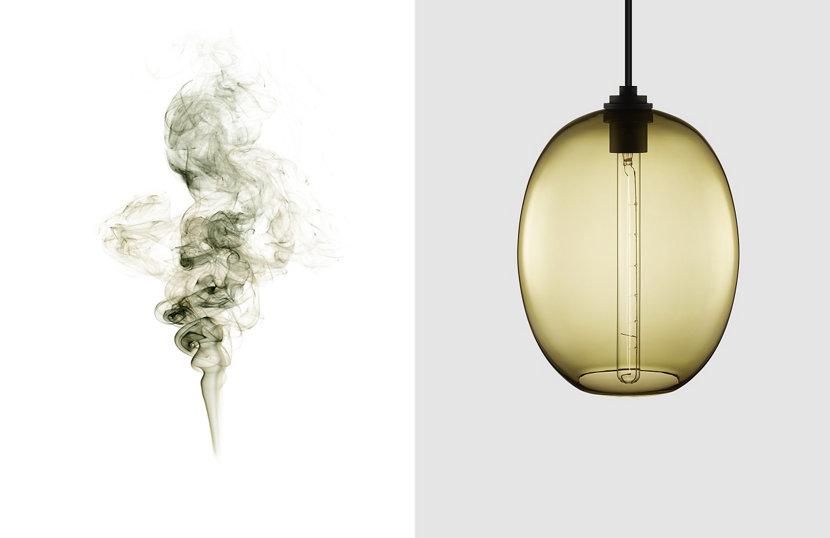 Contemporary Smoke Glass