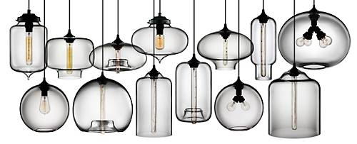 Hand-blown Crystal Modern Pendant Lights