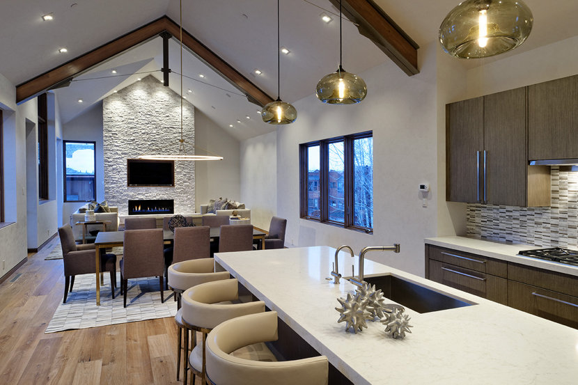 kitchen island pendant lighting farmhouse kitchen island pendant lights smoke aurora bring warmth to aspen mountain home