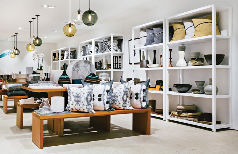 provide lifestyle store displays niche pendant lights in new location
