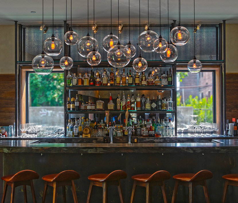 The Roundhouse bar pendant lighting