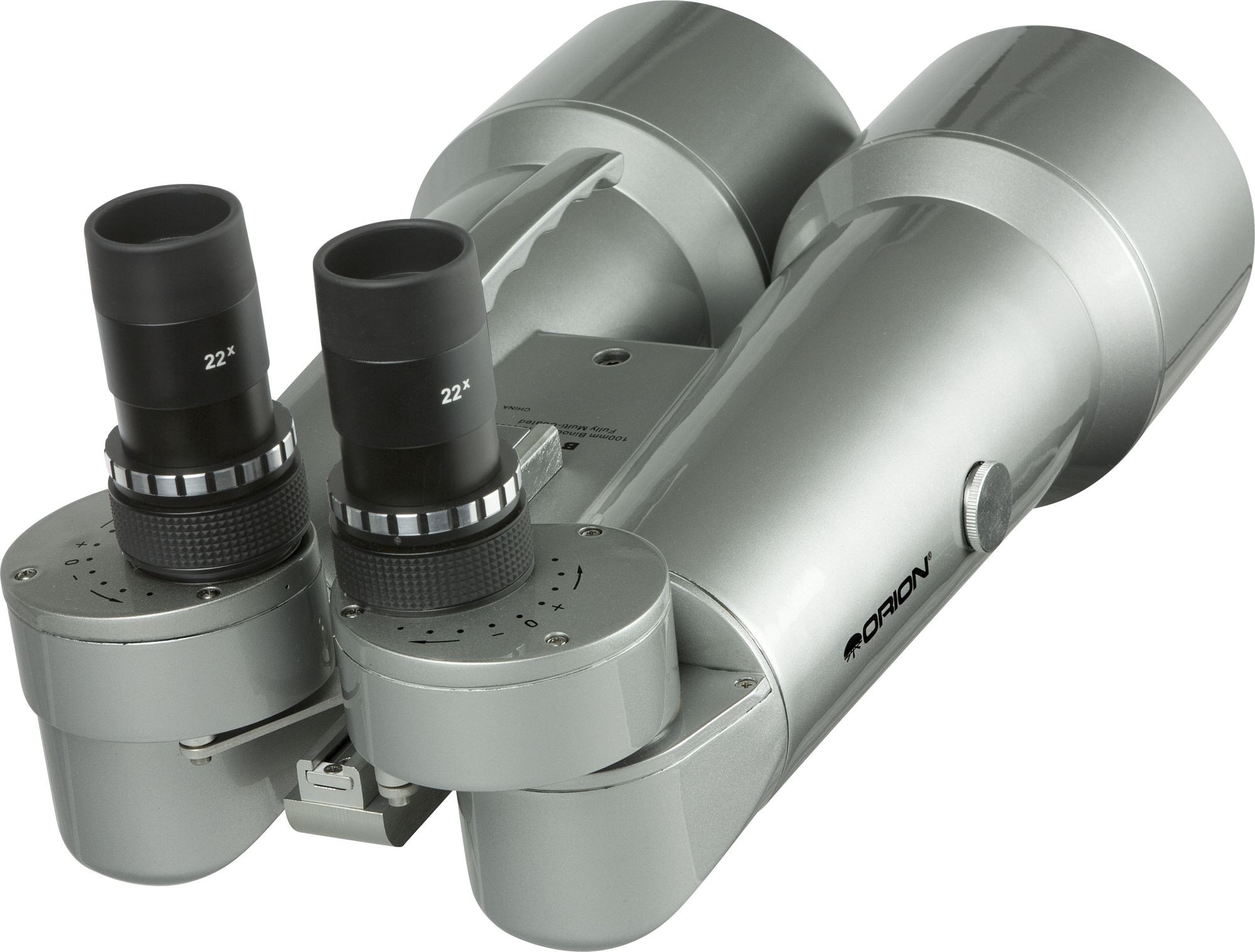 Orion BT100 Premium Binocular Telescope with 22x magnification.