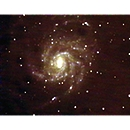 M101, Pinwheel Galaxy in Ursa Major
