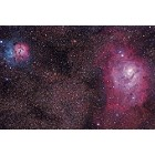 Trifid and Lagoon Nebulas 4-12-13 at US Store