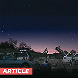 Weekend Star Party: M8, M20 and the Perseid Meteor Shower