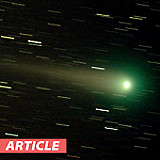 Judging the Size of a Comet's Coma and Tail