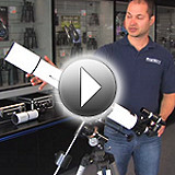 Features of the Orion AstroView 90mm EQ Refractor Telescope