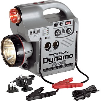 Orion Dynamo Pro 12 aH Rechargeable 12V DC Power Station