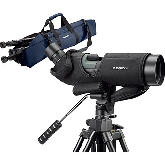 Orion TrailHead 85mm Spotting Scope Bundle
