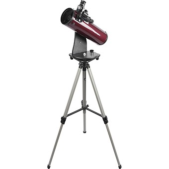SkyScanner 100mm Reflector Telescope and Tripod Bundle