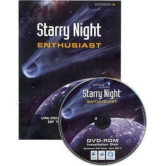 Starry Night Enthusiast 6.3 Astronomy Software