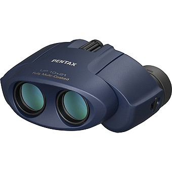 Pentax UP 10x21 Binoculars, Navy Blue