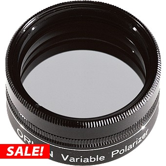 """1.25"""" Orion Variable Polarizing Filter"""