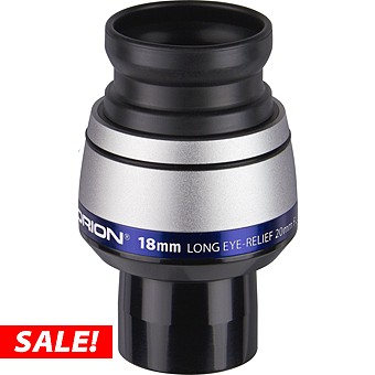 18mm Orion Long Eye Relief Telescope Eyepiece
