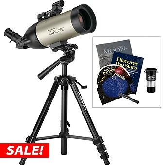 Orion GoScope 70 Refractor Telescope & StarGazer's Kit