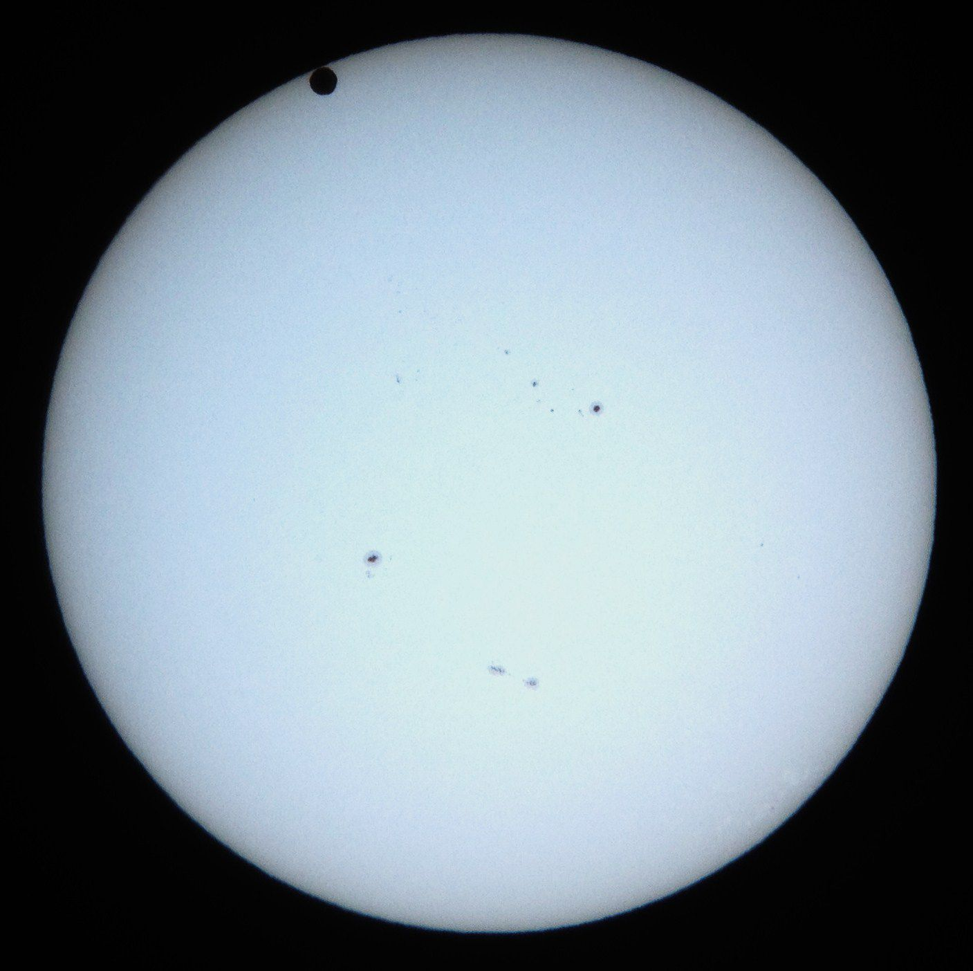 Transit of Venus Ingress Interior