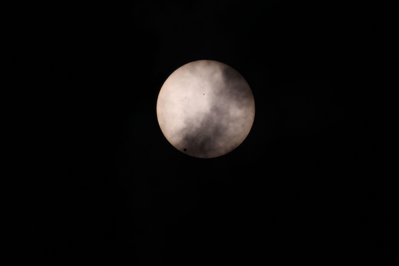 Cloudy Venus Transit