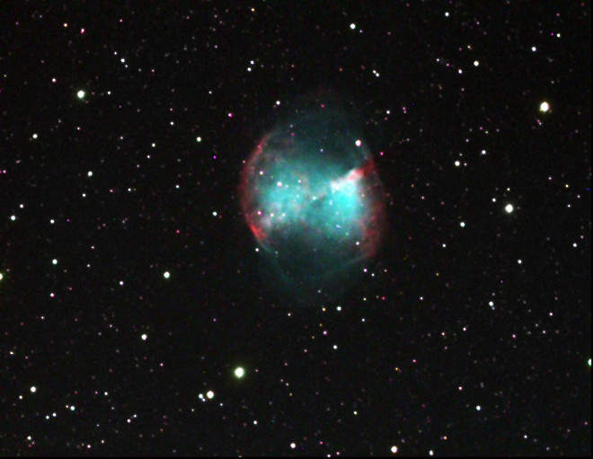 dumbbell nebula colors - photo #13