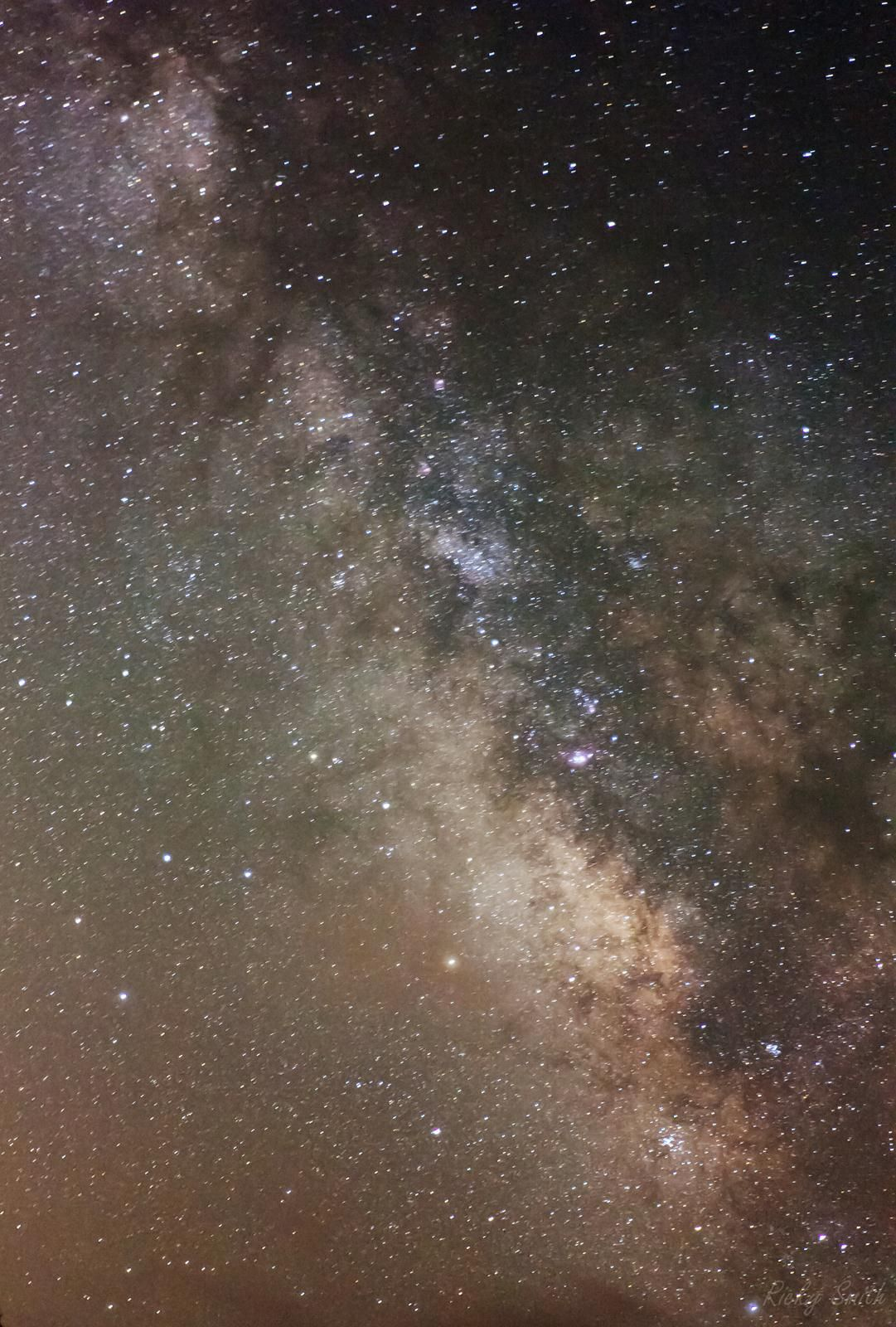 Milky Way Region In Sagittarius