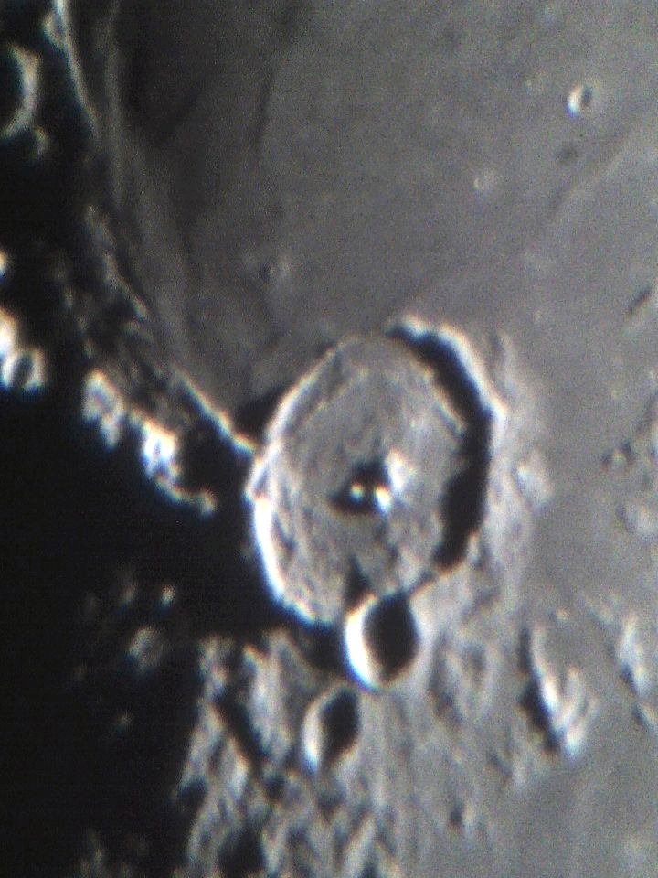 Moon Crater Close Up at Orion Store