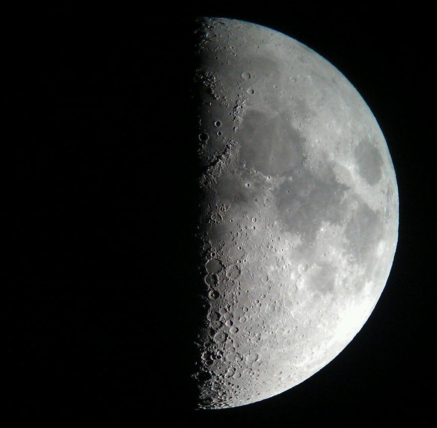 half moon astronomy - photo #5