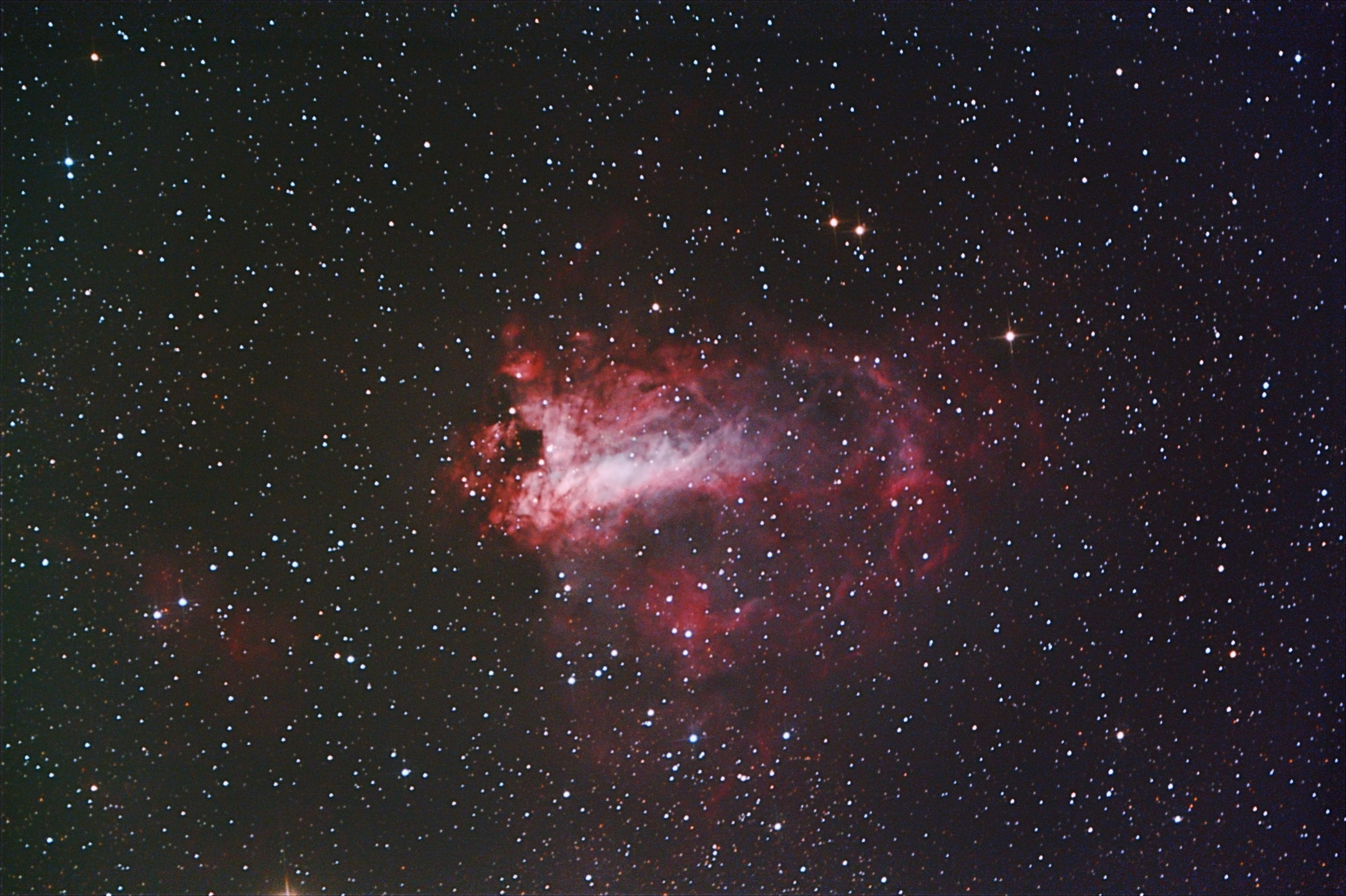 M17 - The Swan Nebula | Astronomy Pictures at Orion Telescopes