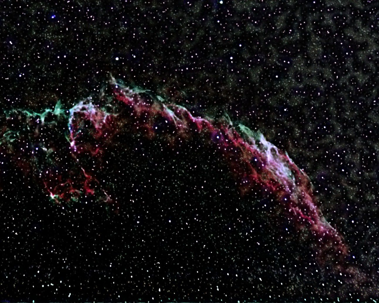 NGC6992 Eastern Veil Nebula