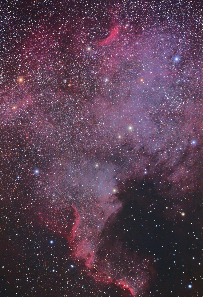NGC 7000 - North American Nebula