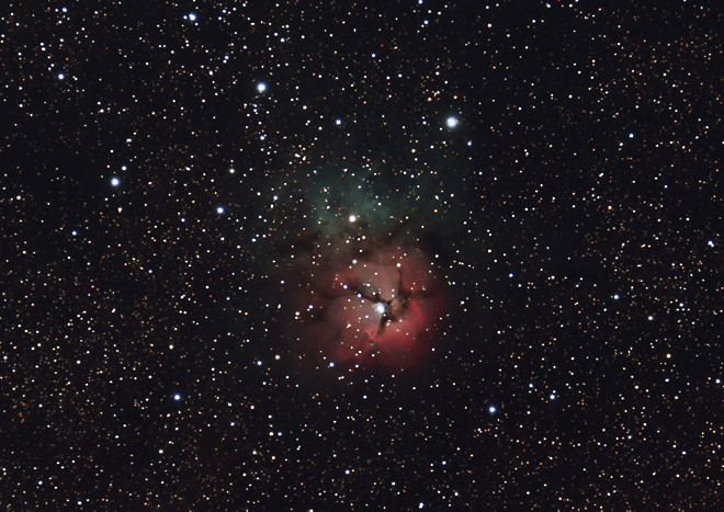 M20 - The Trifid Nebula (cropped)