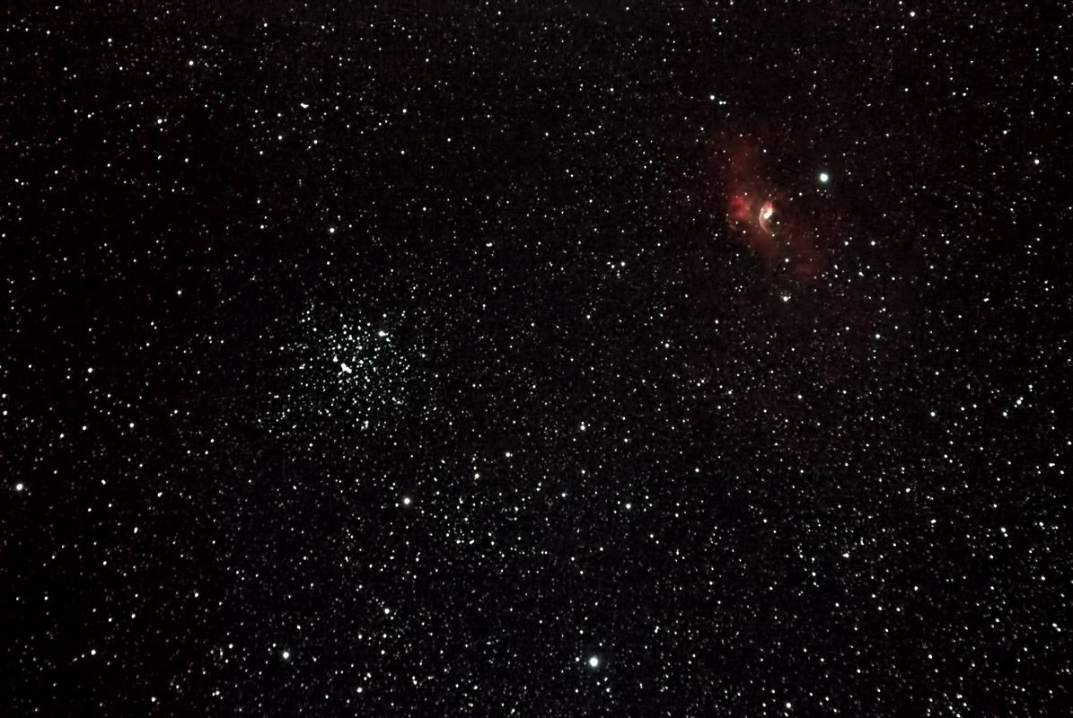 M52 & Bubble Nebula