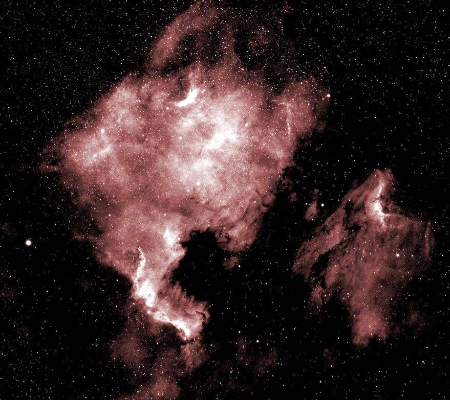 NGC7000 and IC5070