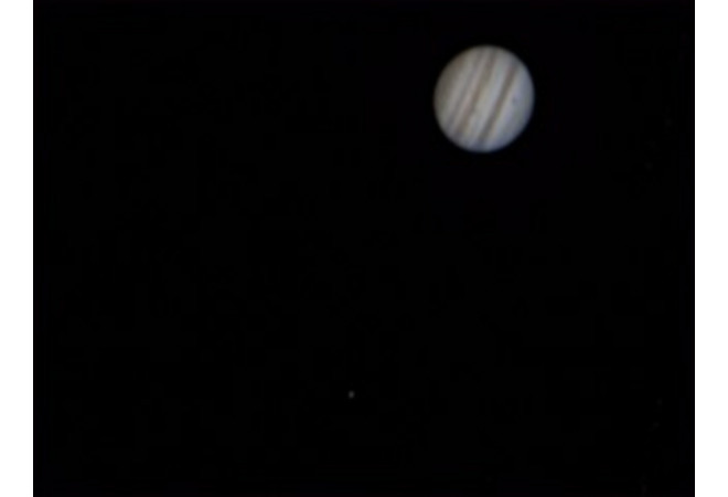 Jupiter with Europa transit at US Store