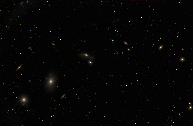 Markarian's Chain in Virgo