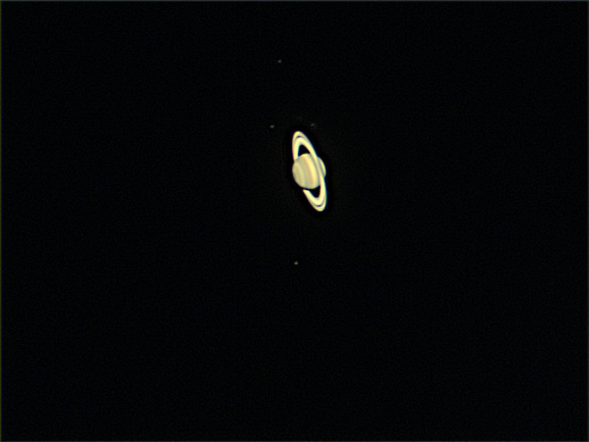 Saturn and Moons 6-12-13 at Orion Store