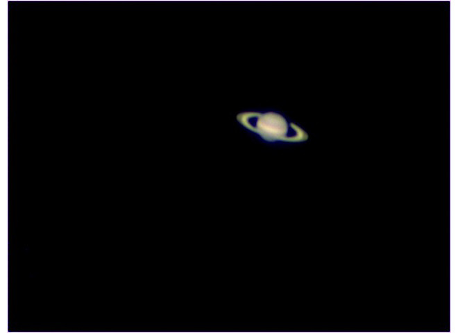 Saturn With A Small Scope Astronomy Pictures At Orion