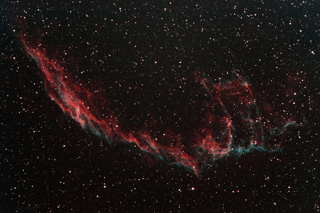 NGC6992 Ha+Oiii Veil Nebula East at Orion Store