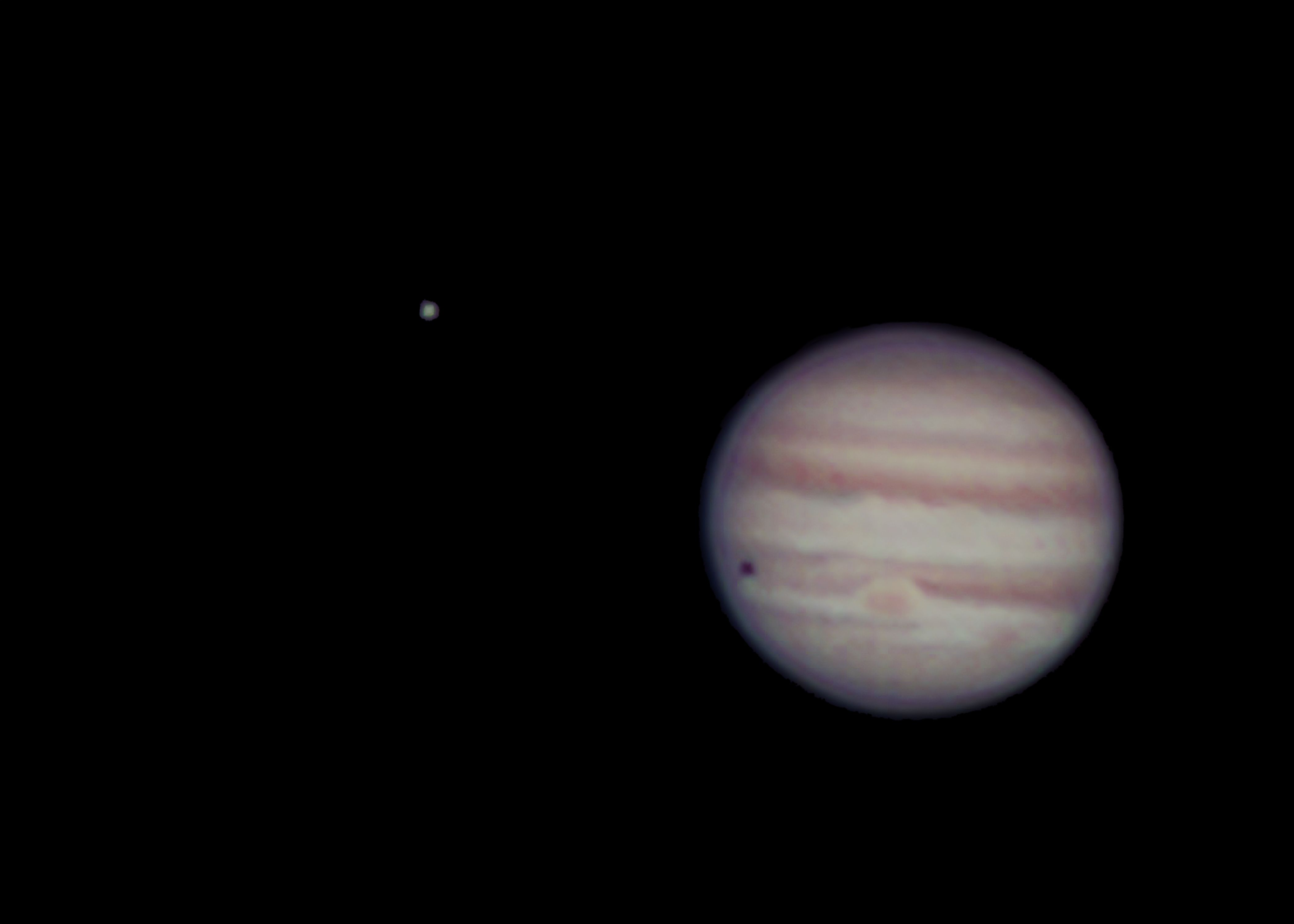 Jupiter and moon at US Store
