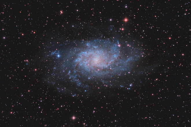M33 The Triangulum Galaxy (The Pinwheel Galaxy)