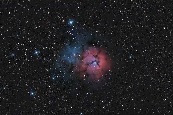 M20 - The Trifid Nebula